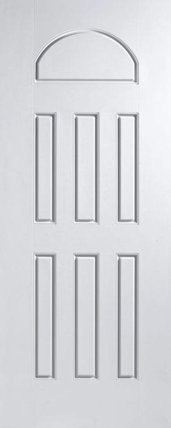 ประตูไฟเบอร์กลาส รุ่น 7P