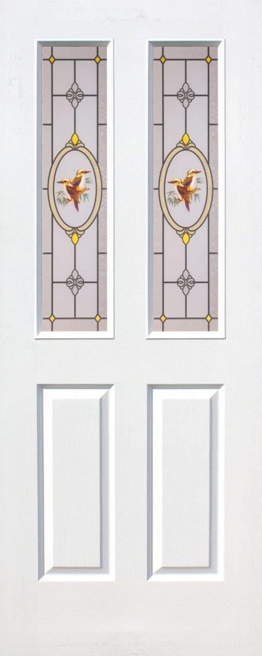 ประตูไม้อัด (HDF Silk Screen Tempered) รุ่น 12S