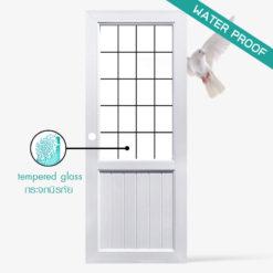 ประตูภายนอกและภายใน uPvc Profile รุ่น S1 ประสิทธิ์ภาพทนต่อทุกสภาพแวดล้อม ตอบโจทย์กับประตูภายนอกอย่างแน่นอน สามารถใส่กระจกได้หลากหลายรุปแบบ ทั้งกระจกใส,กระจกฟ้า,กระจกพิมพ์ลาย (กระจกทุกบานเป็นกระจกนิรภัย) สำหรับใครที่กำลังมองหาประตูภายนอกราคาประหยัดแล้วละก็ แนะนำ ประตูภายนอก รุ่น S1 ใครที่กำลังมองหาประตู หน้าบ้าน ประตูห้องน้ำ หรือ ห้องครัว บอกเลยว่าประตู uPvc Profile รุ่น S1 ตอบโจทย์ของลูกค้าอย่างแน่นอน