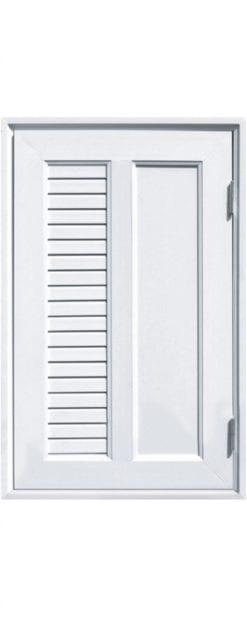 ประตู ช่องชาร์ป UPVC Profile รุ่น CH2L