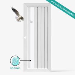 ประตูบ้าน-UpvcProfile-รุ่น-TLW1-ACID-ใช้สำหรับภายนอกภายในและประตูห้องน้ำ คุณสมบัติ กันน้ำ กันปลวก ไม่ลามไฟ